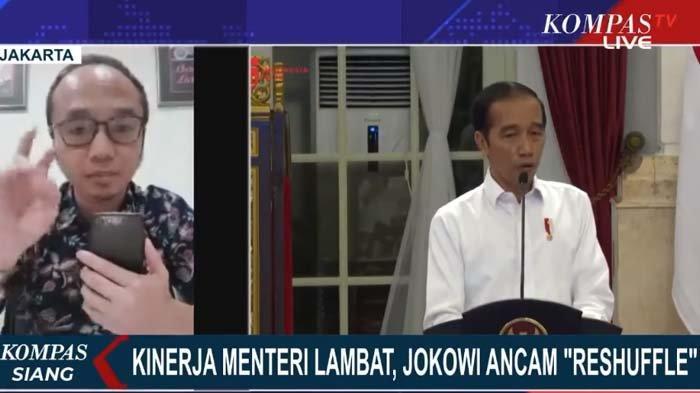 Jokowi Marah dan 'Ancam' Reshuffle, Yunarto Wijaya Singgung 3 Alasan: Nampar Menteri di Depan Publik