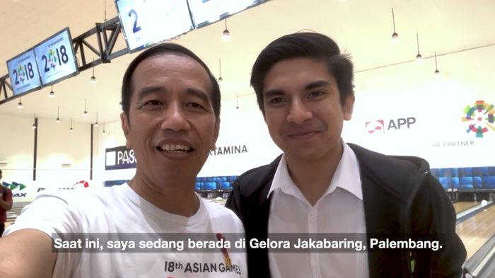 Vlog Jokowi Bersama Menpora Ganteng Malaysia di Palembang, Tengok Kesiapan Asian Games 2018