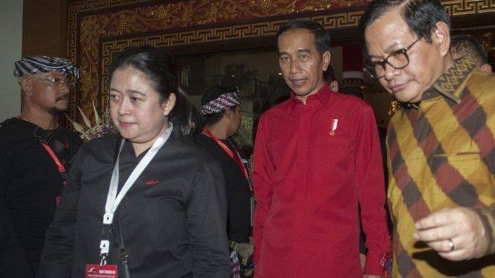 Puan dan Pramono Disebut Terima Dana E KTP, Kata Jokowi  : Kalau Ada Bukti, Diproses Saja !