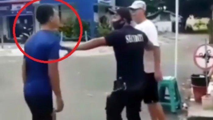 Kronologi Pria Kekar Ngamuk karena Ditegur Tak Pakai Masker, Satpam : Dia Bilang Kerja di Mabes