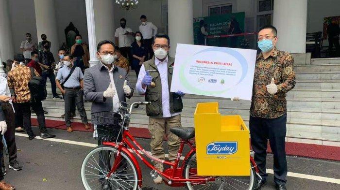 Bantu Pedagang Usaha Kecil Terdampak Pandemi, Joyday Luncurkan Program Bike For Care