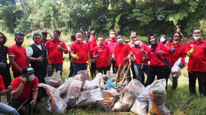 Lewat Program Cinta Ciliwung, DPC PDIP Kota Bogor Tingkatkan Kepedulian Warga Terhadap Lingkungan
