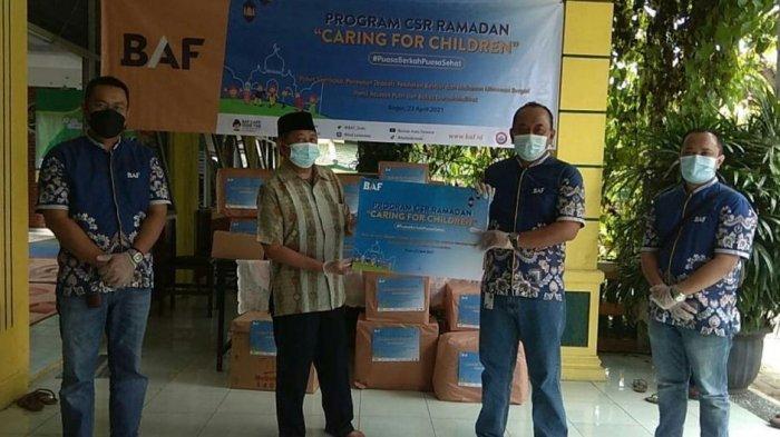 Bantu Pemenuhan Gizi Anak, BAF Salurkan Paket Bantuan ke Panti Asuhan Putri dan Balita di Bogor