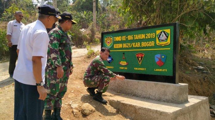Pembukaan Jalan TNI Manunggal Membangun Desa di Tanjungsari Ditargetkan Selesai Akhir Oktober