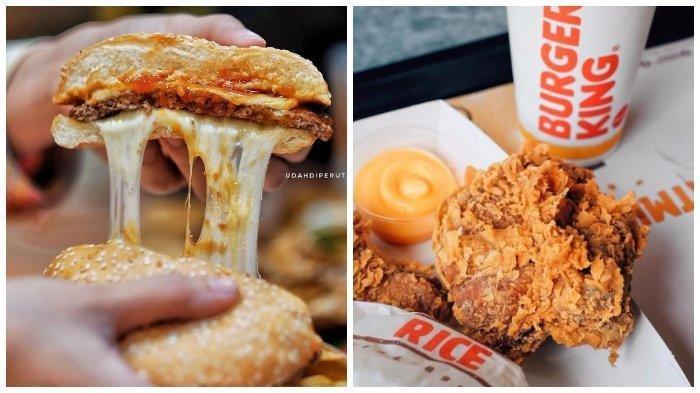 Promo Burger King Februari 2019 - Pilih Pesan 2 Menu Ayam atau Burger Cuma Rp 20 Ribu