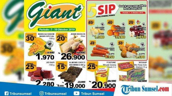 KATALOG Promo JSM Giant Berakhir 3 Hari Lagi: Minyak Goreng, Daging, Beras, Diskon hingga 50%