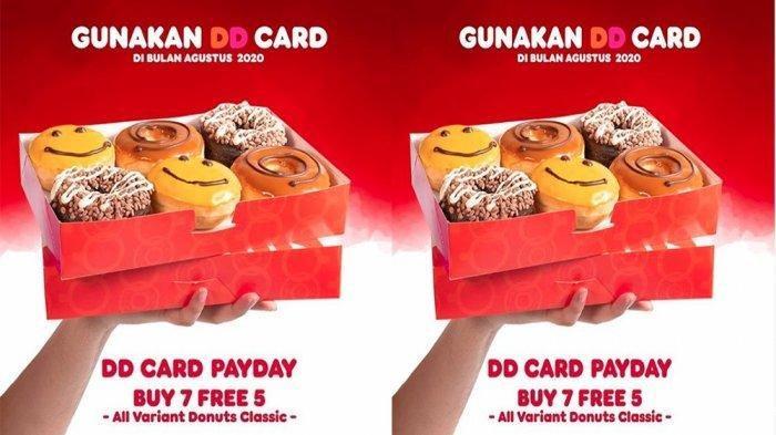 Promo Dunkin Donuts Hari Ini Jumat, Beli 7 Gratis 5 Bebas Pilih Tiap Tanggal 28, 29 dan 30 Agustus