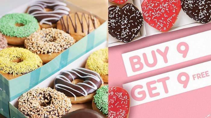 Promo Dunkin Donuts Spesial Valentine, Beli 9 Gratis 9, Hari Ini Hingga 19 Februari, Begini Caranya