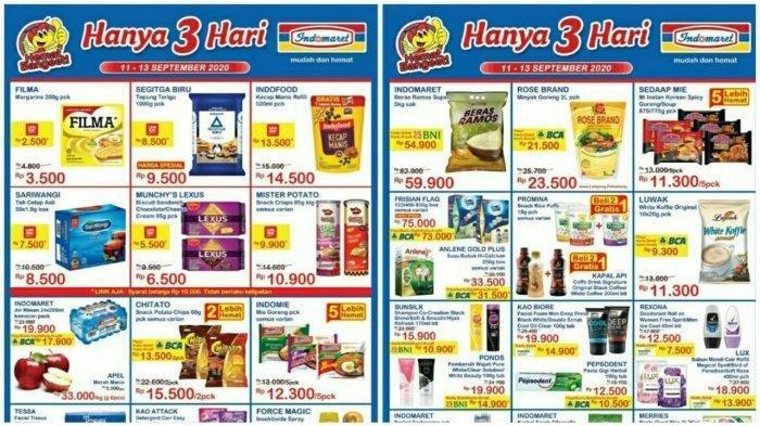 Katalog Promo JSM Indomaret 11-13 September 2020, Beli 2 Gratis 1 Snack Hanya 3 Hari