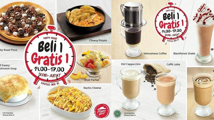Promo Menarik Pizza Hut, Beli 1 Gratis 1 Selama Bulan Oktober, Ini Ketentuannya !