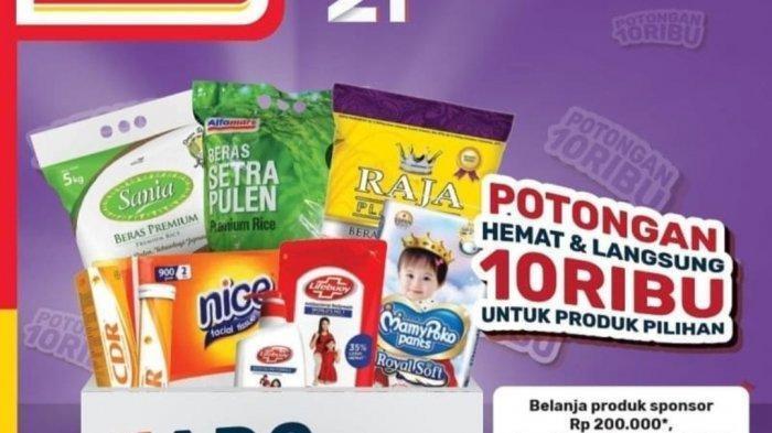 Katalog Alfamart Promo JSM hingga Minggu 15 November: Beras 5Kg Cuma Rp 57.900, Minyak Goreng Murah