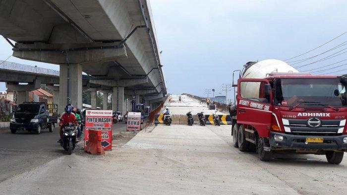 Jelang Lebaran, Pembangunan Tol BORR Dihentikan Sementara