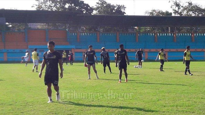 Latihan Terakhir Jelang Laga Kontra Persib Bandung, PS Tira Persikabo Matangkan Taktik dan Strategi