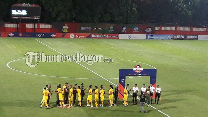 Hasil Liga 1 2019 - Bhayangkara FC Menang Tipis atas Arema FC