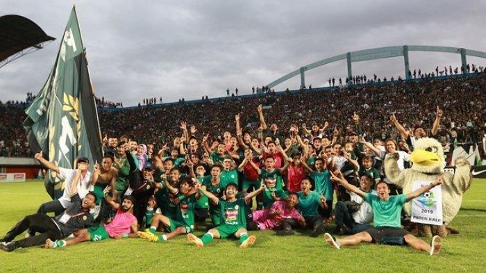 Babak Pertama Final Liga 2 2018 - PSS Sleman Unggul Sementara Dari Semen Padang