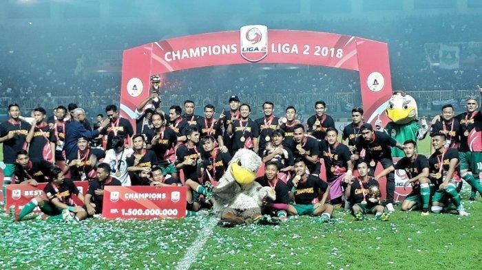 PSS Sleman Juara Liga 2 - Selebrasi Suporter Super Elja hingga Momen di Menit 90
