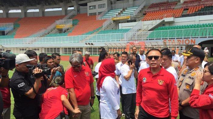 PSSI Tinjau Stadion Pakansari untuk Keperluan Piala Dunia U-20 2021
