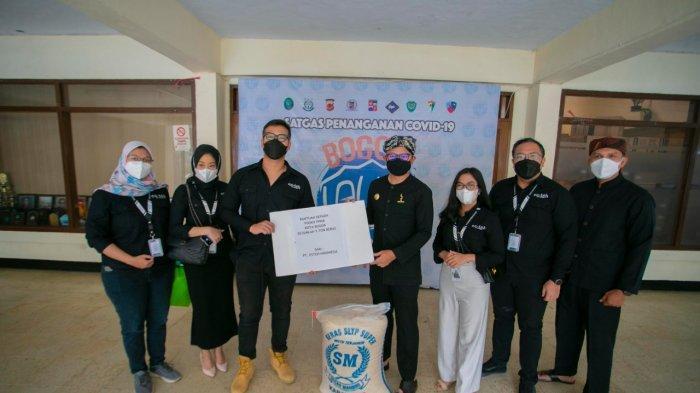 PT Esteh Indonesia Makmur  Sumbang 5 Ton Beras, Bima Arya : Alhamdulilah