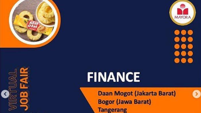 PT Mayora Indah Tbk Akan Gelar Virtual Job Fair pada Rabu (30/6/2021).
