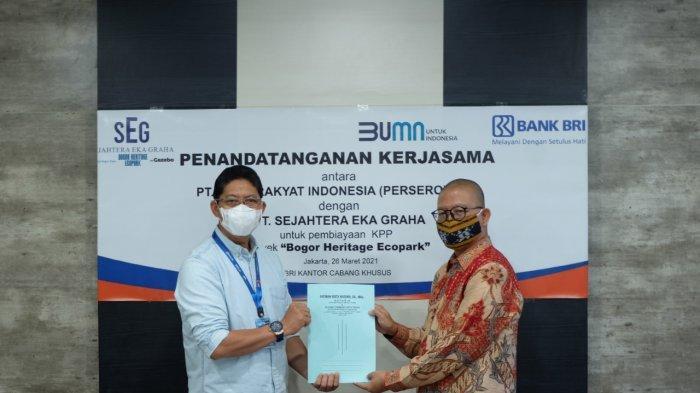 Gandeng BRI, PT SEG Beri Kemudahan Konsumen untuk Miliki Hunian di Bogor