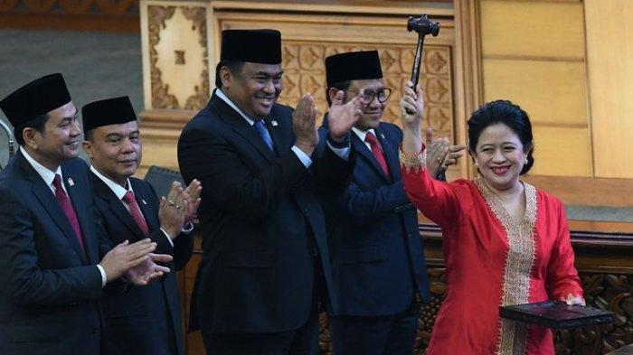 Puan Maharani Jadi Ketua DPR RI Periode 2019-2024, Ini Rekam Jejak Putri Soekarno di Dunia Politik