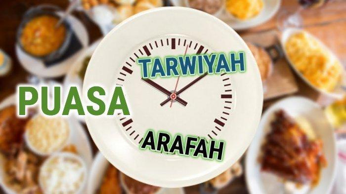 Niat Puasa Dzulhijjah Tarwiyah dan Arafah 29-30 Juli 2020, Keutamannya Bisa Hapus Dosa 2 Tahun