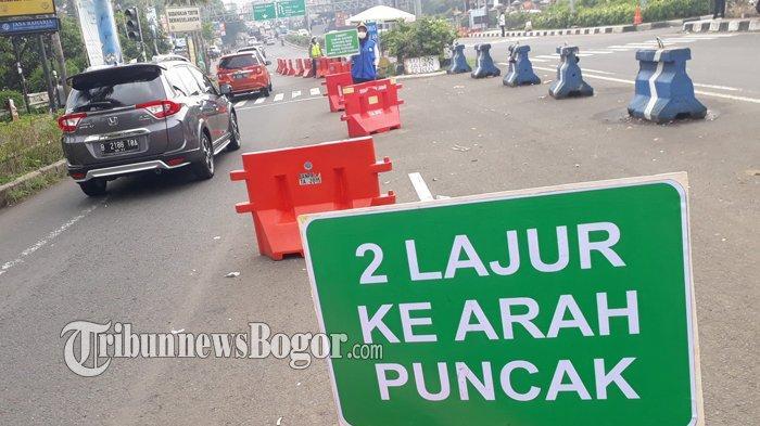 Uji Coba Sistem Kanalisasi 2-1 Sudah Dua Kali, BPTJ Minta PUPR Segera Lebarkan Jalan Raya Puncak