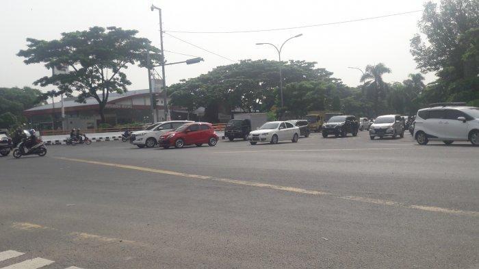 Info Lalu Lintas - Simpang Sentul Jelang Siang Ini Ramai Lancar