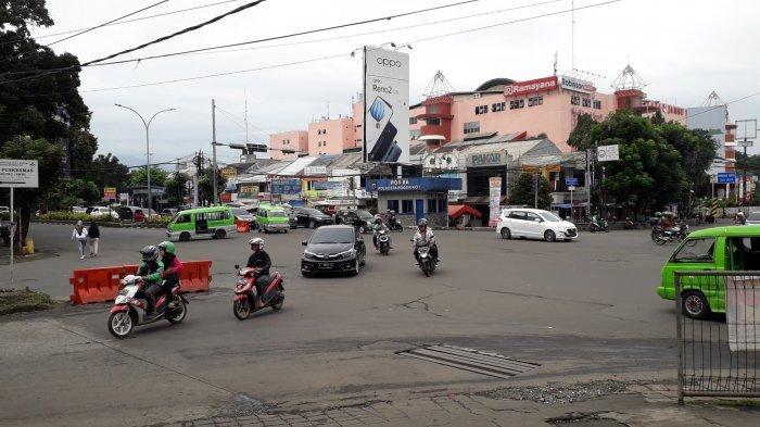 Info Lalu Lintas - Simpang Warung Jambu Saat Ini Terpantau Ramai Lancar
