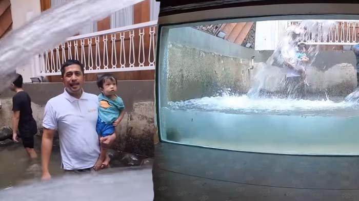 Puluhan Ikan Sempat Mati, Irfan Hakim Isi Kembali Megatank dengan Air: Butuh 5 Ribu Galon Akua Guys!