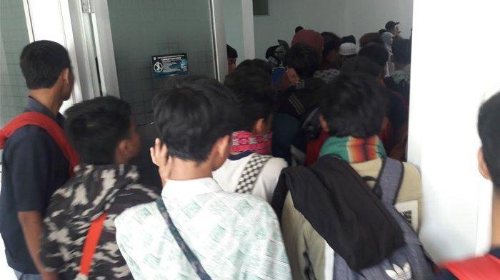 71 Siswa SMK yang Ditangkap di Banyumas Sudah Tiba di Kantor Dinas Sosial Kabupaten Bogor