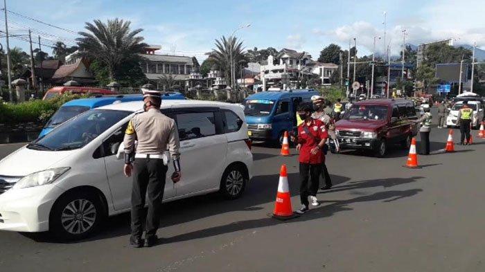Libur Imlek Volume Kendaraan di Puncak Bogor Meningkat, Namun Lalu Lintas Tetap Lancar