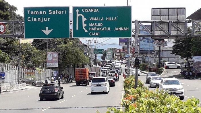 Libur Jelang Natal, Kondisi Lalu Lintas di Jalan Raya Puncak Saat Ini Ramai Lancar