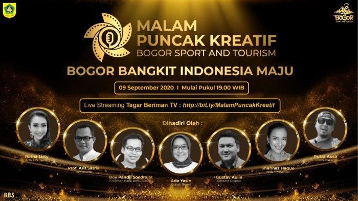 Live Puncak Kreatif Bogor Sport & Tourism Malam Ini, Turut Hadir Artis Ratna Listy dan Shahnaz Haque