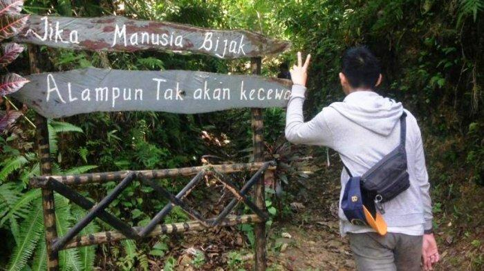 Puncak Lalana, di Kecamatan Ciampea, Kabupaten Bogor.