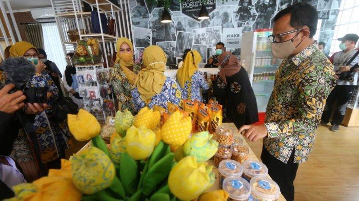 Kembali Bangkit, Pusat Kerajinan Kota Bogor Jual Puluh Produk 100% Bogor Pisan