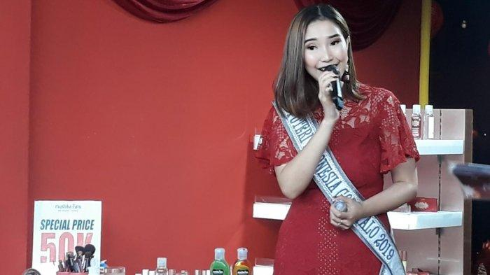 Rangkaian Bogor Street Festival, Putri Indonesia Artika Rustam Bagikan Tips Aman Pakai Kosmetik