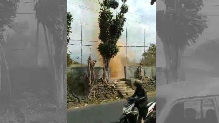 Penjelasan BMKG soal Angin Puting Beliung yang Berputar di Tamansari Bogor