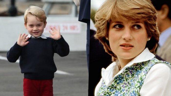 Karena Hal Ini, Pangeran William Akui Pangeran George Punya Kemiripan dengan Putri Diana