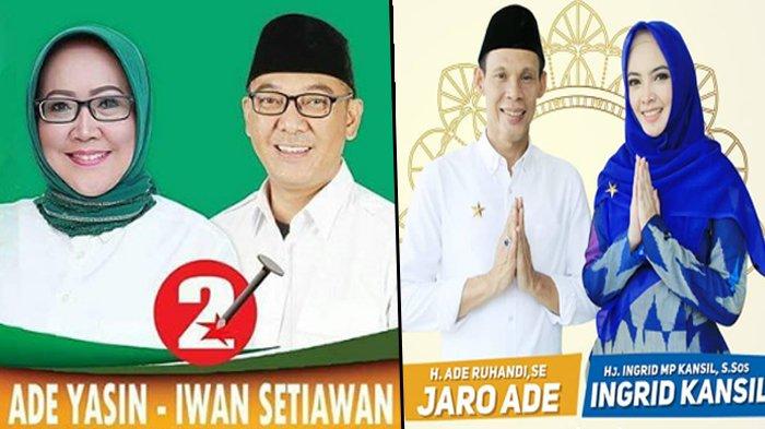 Quick Count Pilkada Kabupaten Bogor Versi KPU, Ade Yasin-Iwan Unggul Tipis Dari Ade Jaro-Ingrid