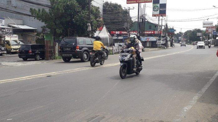 Info Lalu Lintas : Jalan KS Tubun Kota Bogor Saat Ini Ramai Lancar