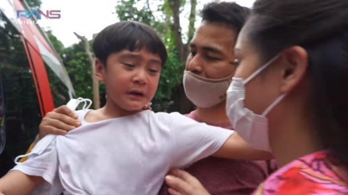 Rafathar Nangis Akan Swab Lewat Hidung, Nagita Slavina Tegas Tunjuk Baim Wong : Jangan Ngetawain