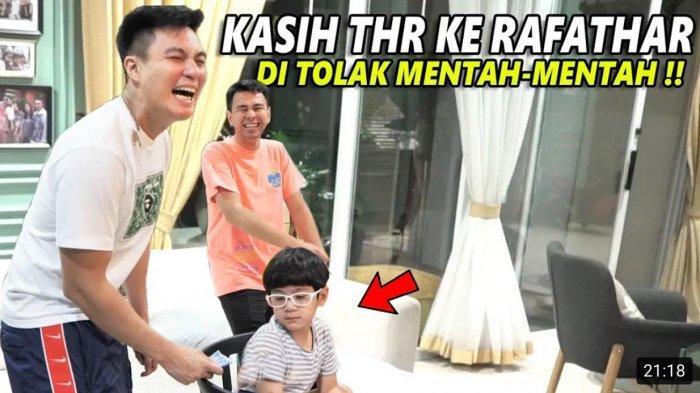 Nongol di Youtube Baim Paula, Rafathar Tagih Honor Syuting ke Baim Wong : Uang Bagian Aa Mana?
