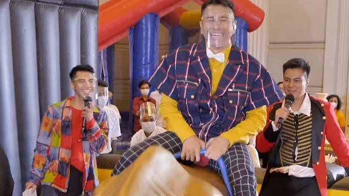 Raffi Ahmad Dibuat Malu di Pesta Ultah Kiano, Baim Wong Ngakak Celana Suami Nagita Robek: Kok Merah?