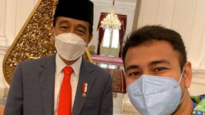 Raffi Ahmad dipanggil Jokowi setelah disuntik vaksin Covid-19 Sinovac tahap 2
