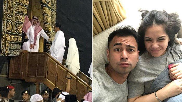 Raffi Ahmad Posting Foto Jokowi Sedang Masuk ke Kabah, Suami Nagita Slavina : Bismillah