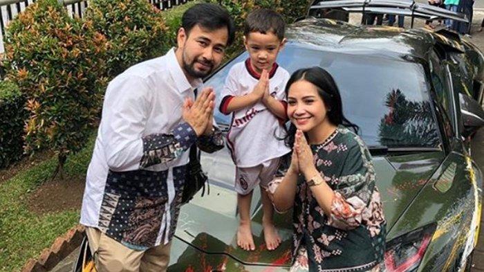 Lebaran, Kolesterol Raffi Ahmad Malah Kambuh dan Rafathar Milih Pakai Baju Bola