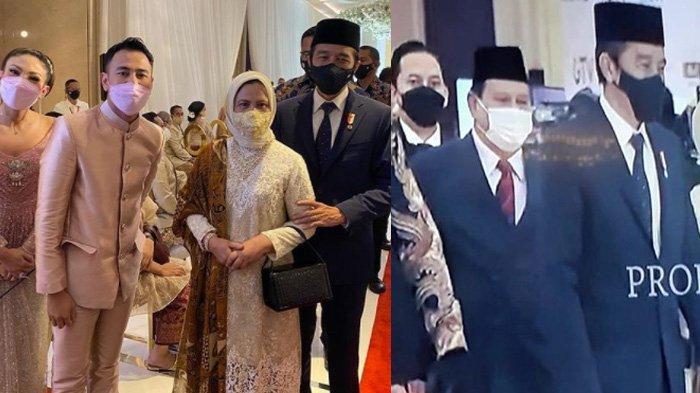 Foto Raffi dan Jokowi di Pernikahan Atta Aurel Diperbincangkan, Prabowo Tak Diajak atau Dicrop ?