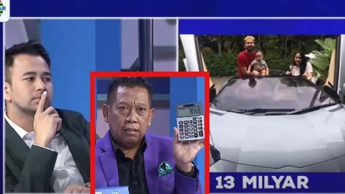 Ragukan Kekayaan Raffi Ahmad Rp32 M, Tukul Syok Lihat Angka Hitungan Kalkulator: Aku Sampai Bingung
