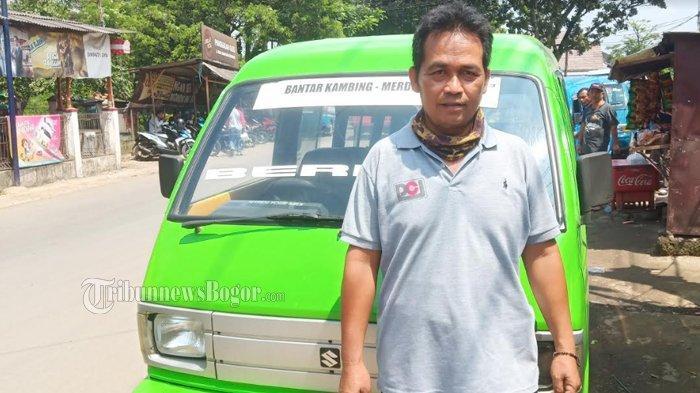 Curhat Sopir Angkot di Bogor Kesulitan Bayar Setoran Imbas Pandemi Corona : Habis untuk Bensin